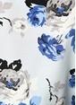 Theory Çiçek Desenli İpek Gömlek Renkli